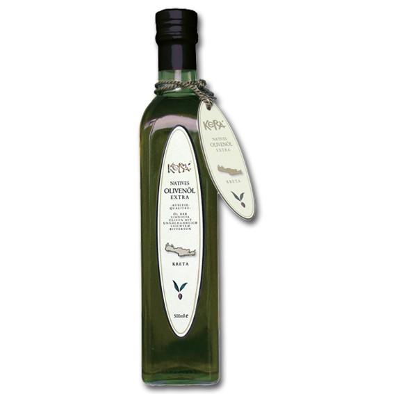Kerá-Olivenöl 500 ml - Natives Olivenöl Extra